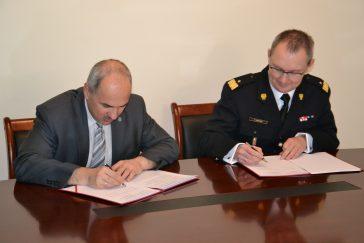 Podpisanie umowy o współpracy między WEL WAT a SGSP
