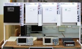Widok jednego ze stanowisk laboratoryjnych przekazanych przez firmę PULSAR.
