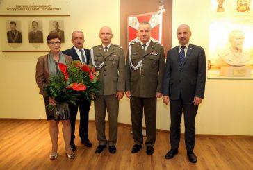 Pożegnanie z mundurem płk. dr. hab. inż. Piotra Kaniewskiego